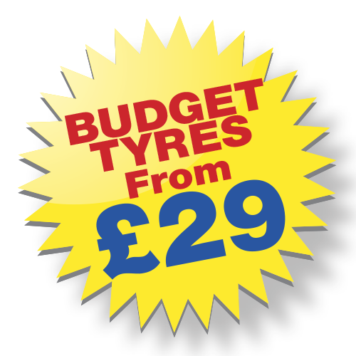 Budget Tyres from £29