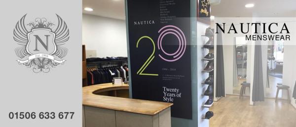 Nautica Menswear Banner Graphic