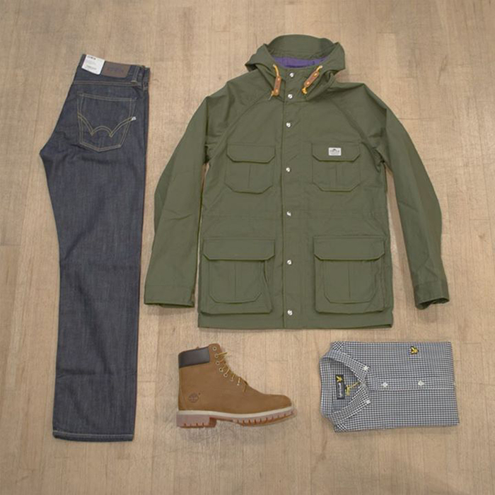 Photo of Jacket, Jeans, Boots and Shirt