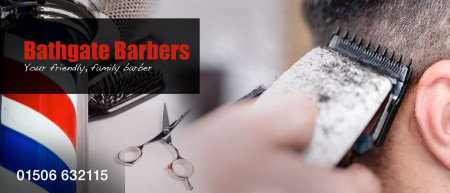 Bathgate Barbers Header Graphic