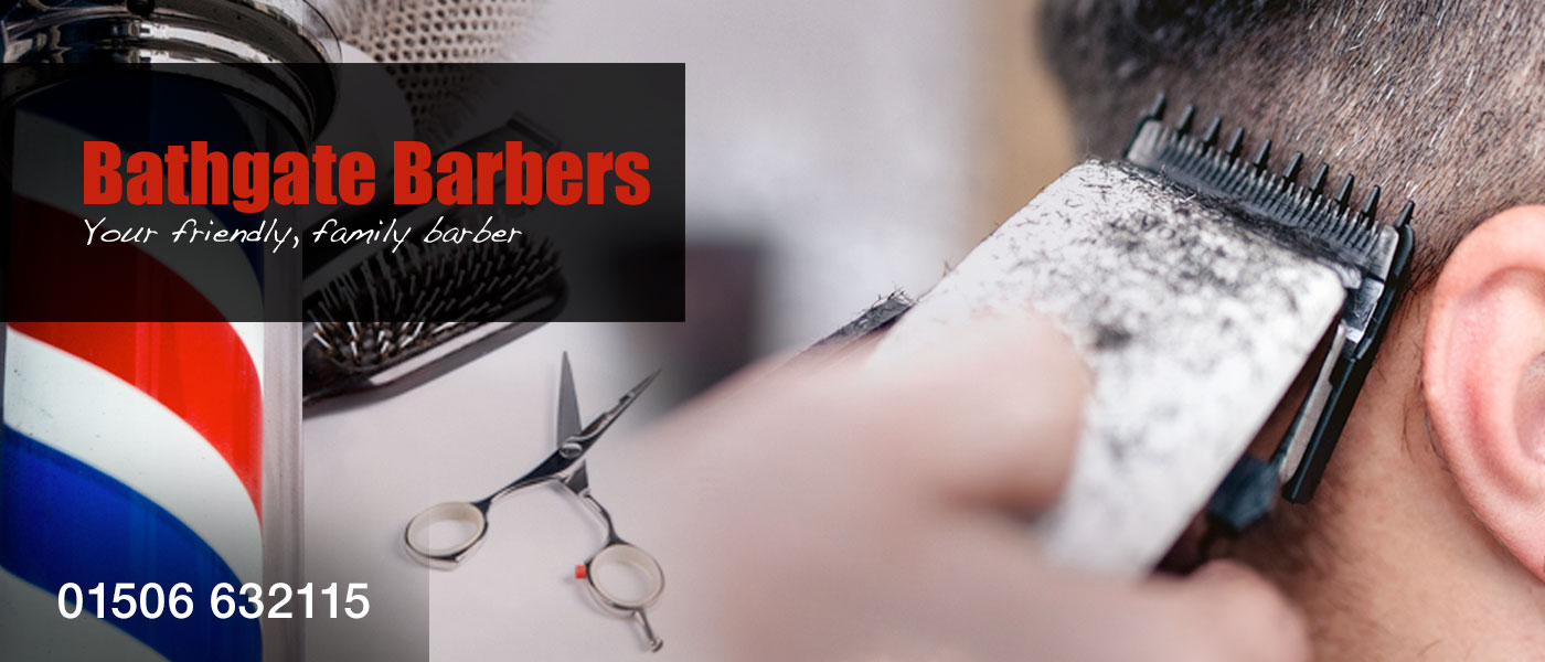 Bathgate Barbers Header Graphic