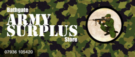 Bathgate Army Surplus Store Header Graphic