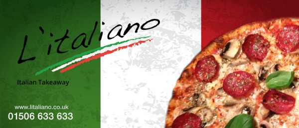 Header graphic for Litaliano Takeaway
