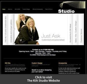 The Kilt Studio Website link