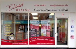 Blind Design Shopfront