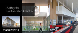 Bathgate Partnership Centre Header Graphic