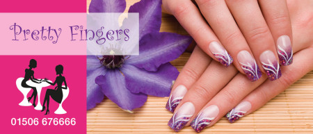 Pretty Fingers Header Graphic