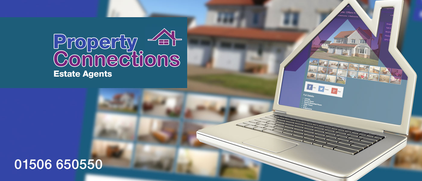 Property Connections Estate Agents Graphic Banner