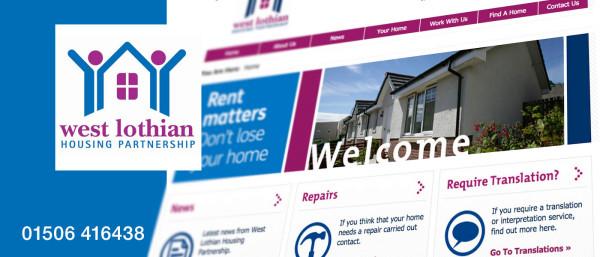 West Lothian Housing Partnership Graphic