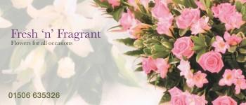 Flowers from Fresh 'n' Fragrant – Bathgate