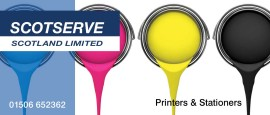 Scotserve print and stationery