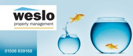 Weslo Property Management Header graphic - Choose Bathgate