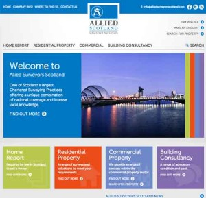 Link to Allied Surveyors Scotland Web Site