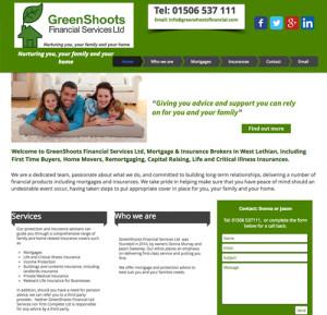 Greenshoots Financial Services Website link